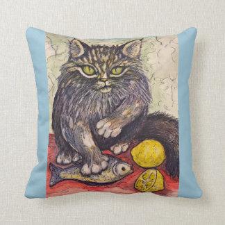 My Beloved Cat #4 - Throw Pillow