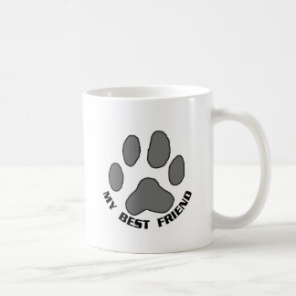 My Best Friend Basic White Mug