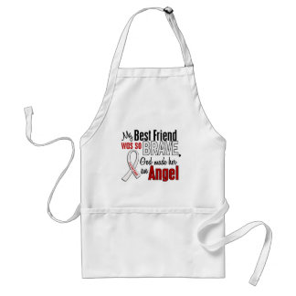 My Best Friend Is An Angel Lung Cancer Standard Apron