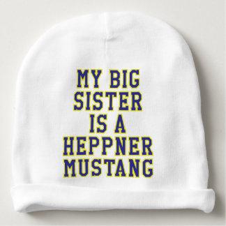 My Big Sister is a Heppner Mustang Baby Beanie