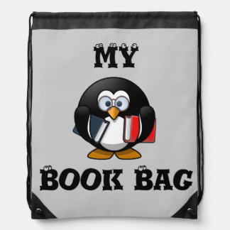 My Book Bag Drawstring Backpacks