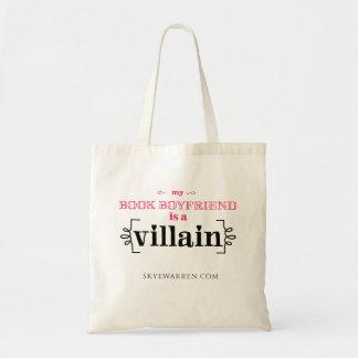 My Book Boyfriend Is A Villain Budget Tote Bag