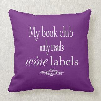 My Book Club Pillow