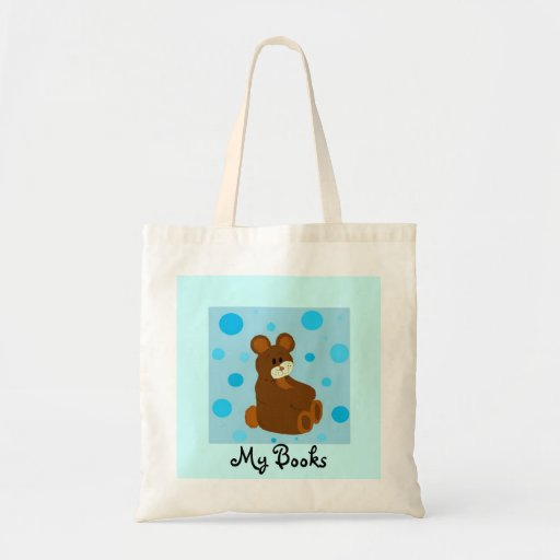 My Books Canvas Bags