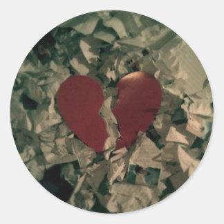 My broken heart Sticker