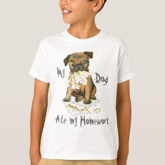 My Brussels Griffon Ate My Homework T-Shirt