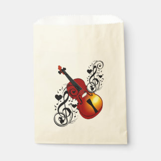 My Buddy,Violin_ Favour Bags