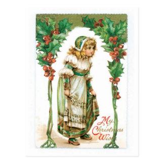 My Christmas Wish Postcard