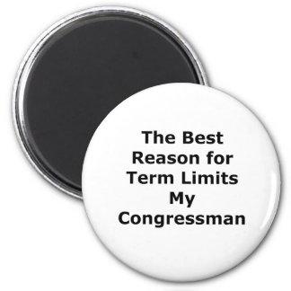My Congressman The MUSEUM Zazzle Gifts Fridge Magnet