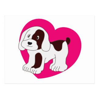 My Cute Dog Postcard