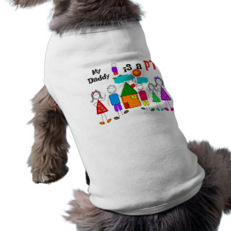 My Daddy is a Physical Therapist PT Sleeveless Dog Shirt