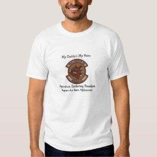 My Daddy's My hero T Shirt