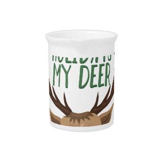 My Deer Pitcher