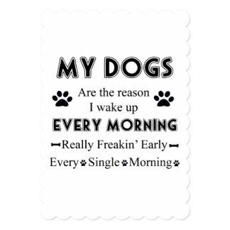 My Dogs Card