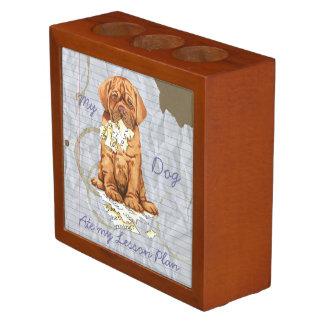 My Dogue de Bordeaux Ate My Lesson Plan Desk Organiser