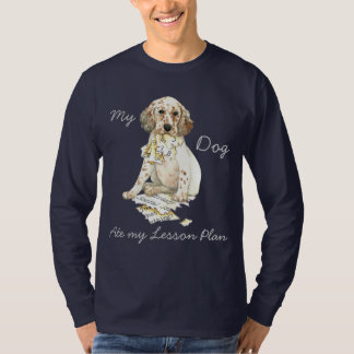 My English Setter Ate My Lesson Plan T-Shirt