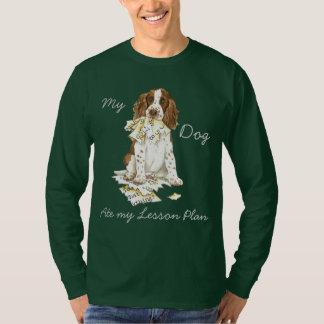 My English Springer Spaniel Ate My Lesson Plan T-Shirt