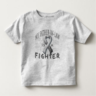 My Father-In-Law Is A Fighter Grey Toddler T-Shirt