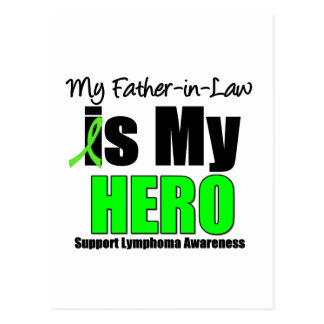 My Father-in-Law is My Hero Postcard