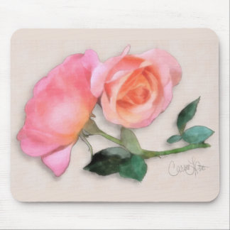My Favorite Color of Rose Mouse Mats