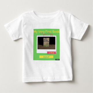 My First Book! Baby T-Shirt