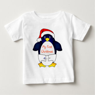 My First Christmas (Santa Baby) Baby T-Shirt