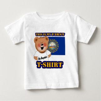 My First New Hampshire Teddy Bear Shirt