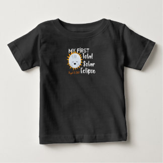 My First Total Solar Eclipse 2017 Baby Tee