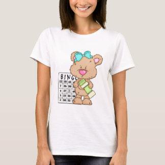 My Fun Bingo Bear ts-hirt T-Shirt