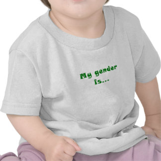 My Gender is T-shirt