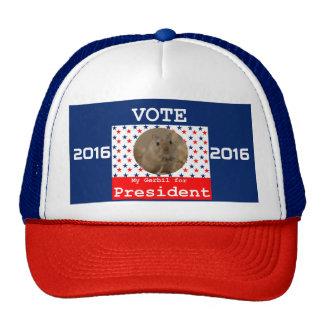 My Gerbil for President Cap