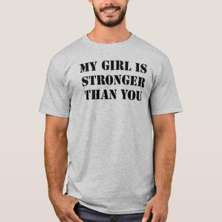 my girl stonger than you tshirt mens