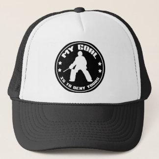My Goal, Field Hockey (black) Trucker Hat