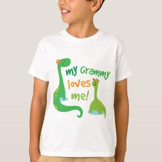 My Grammy Loves Me Dinosaur T-Shirt