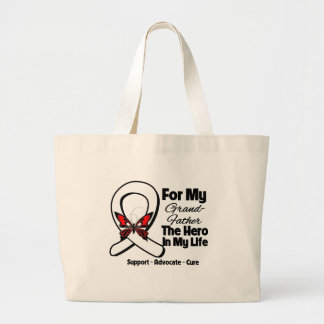 My Grandfather - Lung Cancer Awareness Canvas Bag