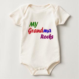 MY GRANDMA ROCKS BABY BODYSUIT
