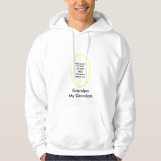 My Grandpa The MUSEUM Zazzle Gifts Add Picture Hoodie