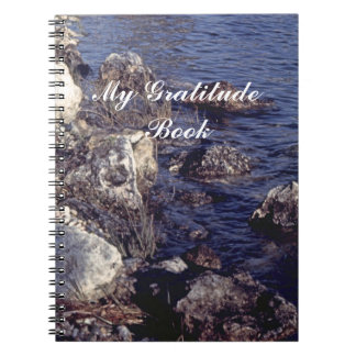 My Gratitude Book With Shore Scene Note Books