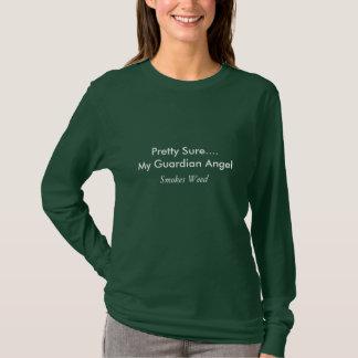 My Guardian Angel Smokes Weed T-Shirt