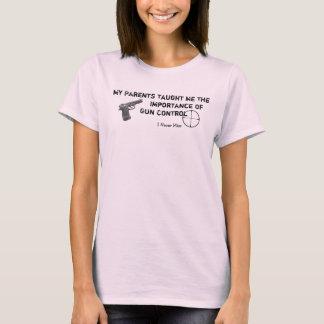 My Gun Control - I Never Miss T-Shirt