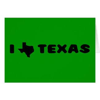 My heart belongs in Texas (2) Greeting Card