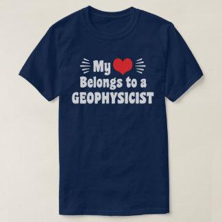 My Heart Belongs To A Geophysicist T-Shirt