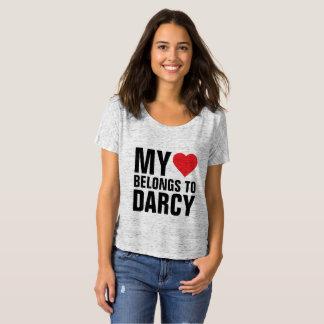 My heart belongs to Darcy T-Shirt