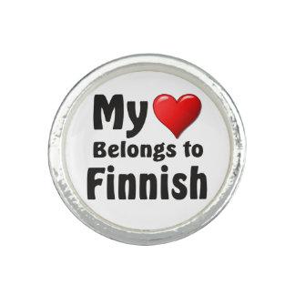 My heart Belongs to Finnish Rings
