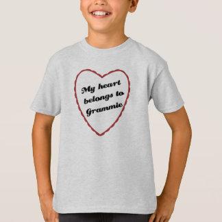 My Heart Belongs to Grammie T-Shirt