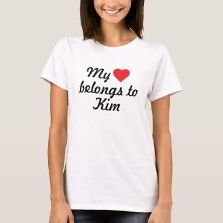 My heart belongs to Kim T-Shirt