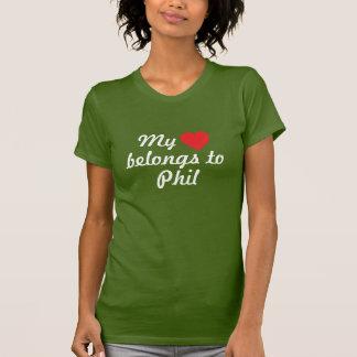 My heart belongs to Phil T-Shirt