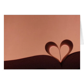 My Heart is an Open Book Greeting Card