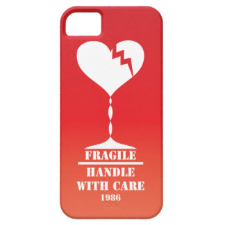 My heart is fragile handle with care iPhone 5 case