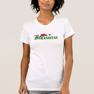 My Heart Is In Afghanistan Tee Shirts